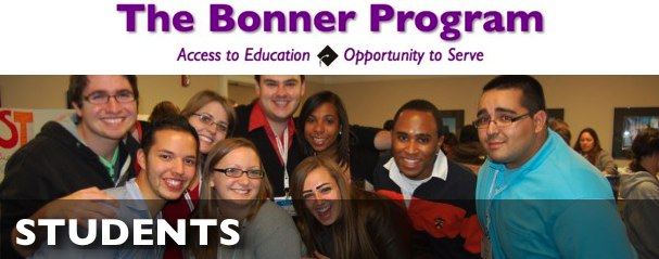 The Bonner Network Wiki Index Page Students